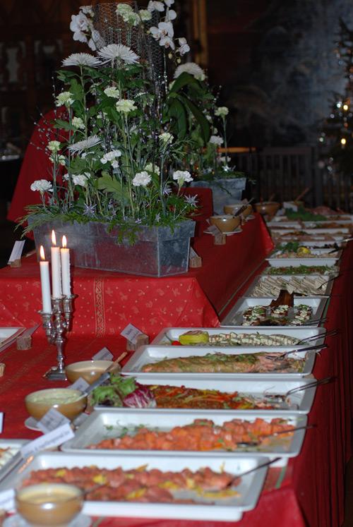 Julbord på Tjolöholm Slott