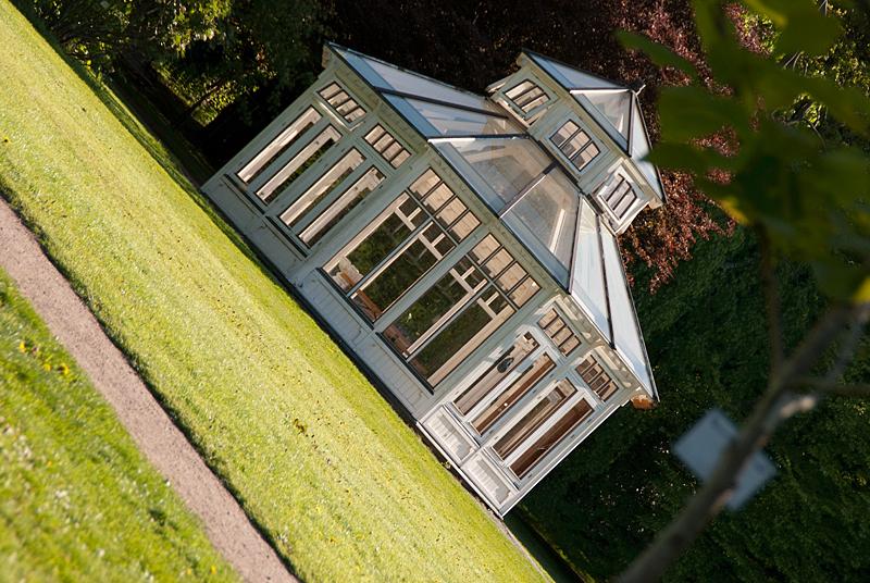 Lusthus i Botanska trädgården, Göteborg