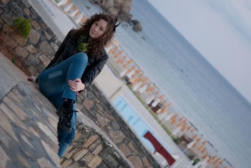 Jag på Kreta