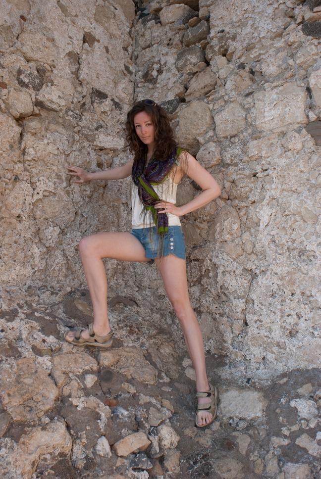 Jag och fästningen i Ierapetra
