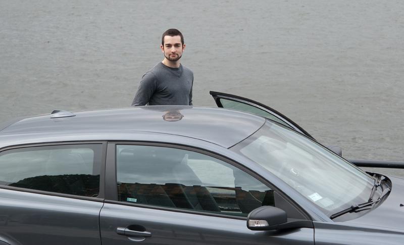 John, min chaufför när allt annat ser grått ut