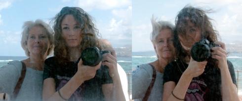 Jag och mamma på Las Canteras, Las Palmas
