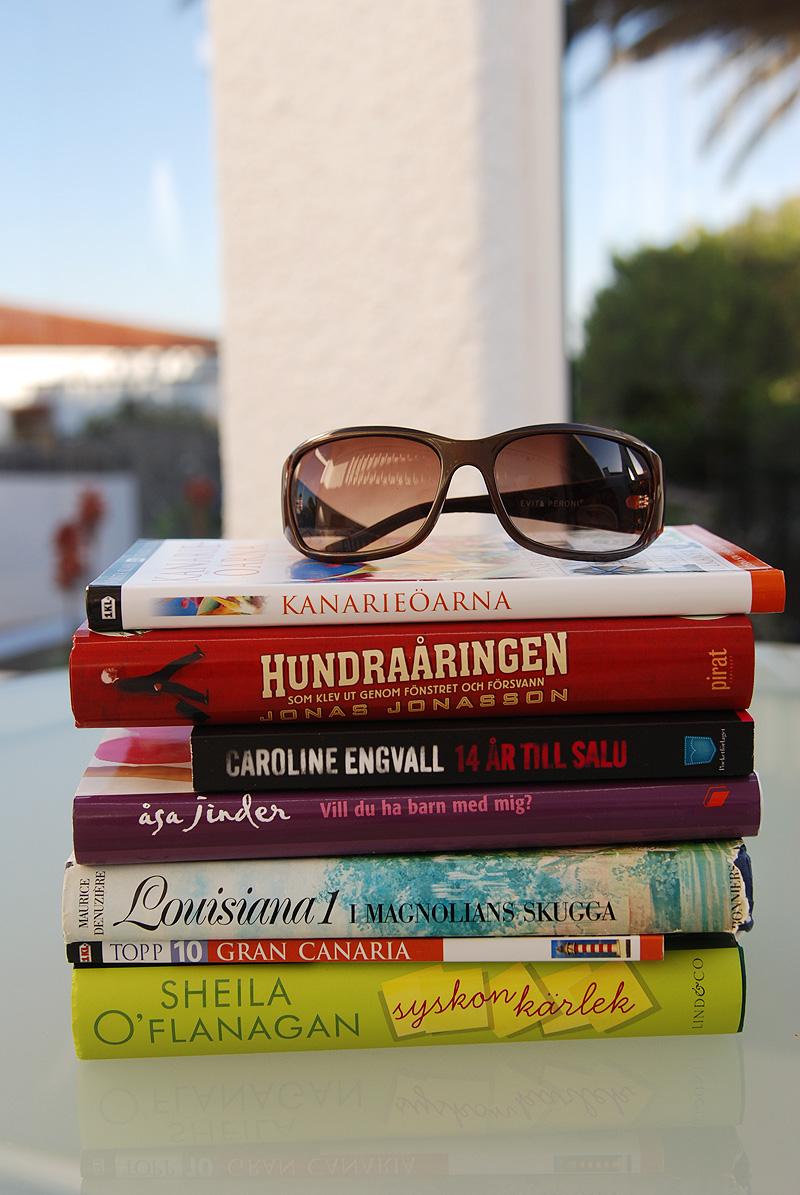Böcker som ska läsas under semestern