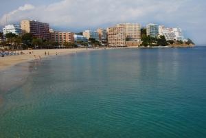 Stranden i Magaluf