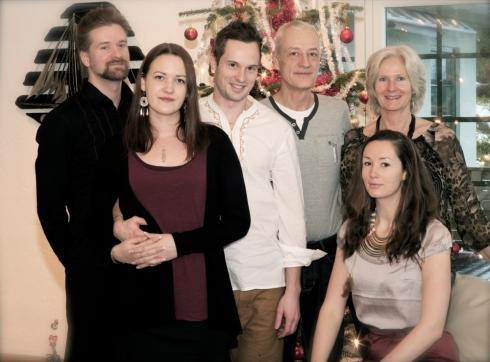 Julafton 2012 - Familjen Jonsson