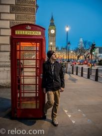 London - Oscar och Big Ben