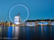 Themsen och London Eye