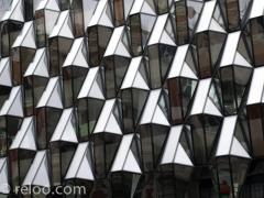 Glasfasad, Oxford Street, London