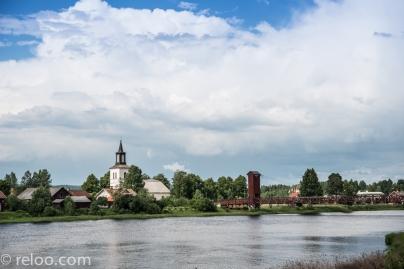 Sveriges längsta träbro i Dala-Floda