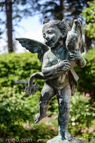 Hildasholm - staty