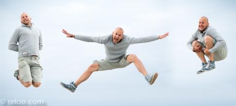 Vadstena - Hopp uppe i luften