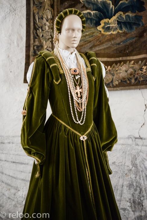 Vadstena - Vadstena Slott, klänning