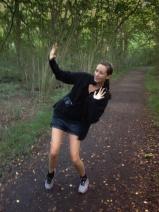 Jag fjantar mig på Estelles promenad