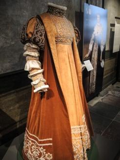 Prinsessklänning i Kalmar Slott