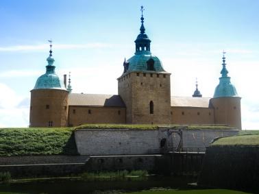Utanför Kalmar Slott