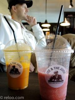 Joe and the Juice på Landvetter