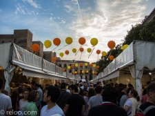 Matmarknad i Barcelona