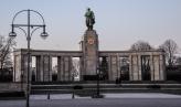 Minnesmonument för Sovjets soldater på Straße des 17 Juli