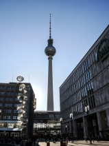 TV-tornet / Fernsehturm i Berlin