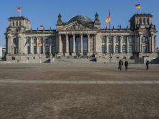 Riksdagshuset i Berlin - Reichstag