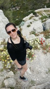 Bland blomster..