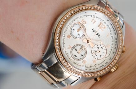 Jag fick en klocka av Oscar