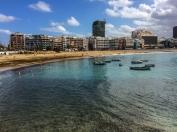 Las Palmas och Las Canteras
