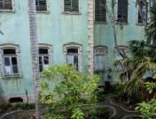 En övergiven byggnad