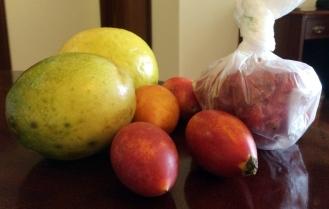Frukten från Mercado dos Lavradores i Funchal
