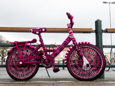 Virkad cykel i Lidköping