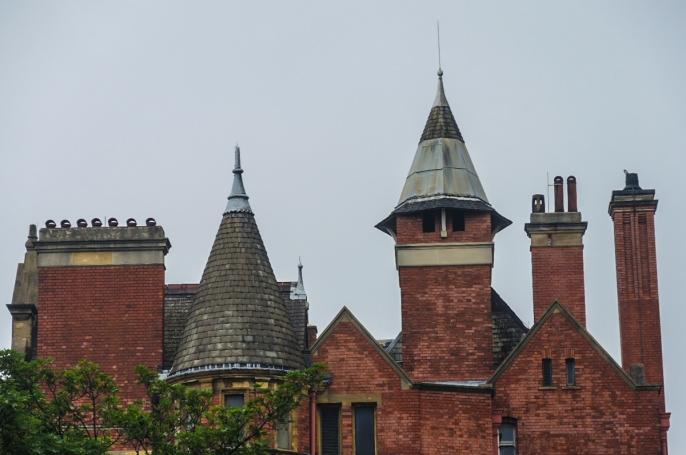 En charmerande byggnad