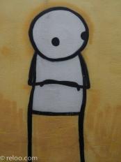 Glastonbury - Konst på fasadvägg