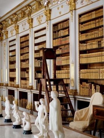 Biblioteket i Drottningholms slott