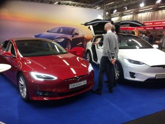 Tesla i montern hos Werksta