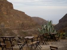 Restaurangen ovanför Vega Barranco de Guayadeque