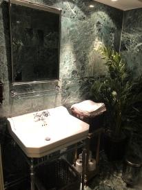 En vacker toalett