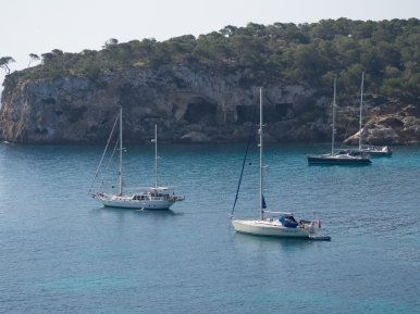 Båtar i Playa del Mago