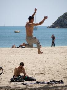 Atletisk lindansare