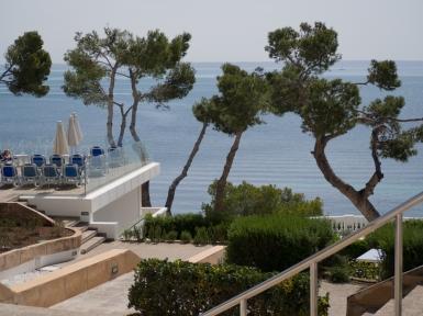 Utsikt från hotellet Ponent Mar